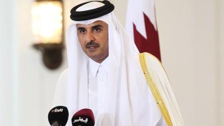 Emir of Qatar Sheikh Tamim bin Hamad al-Thani